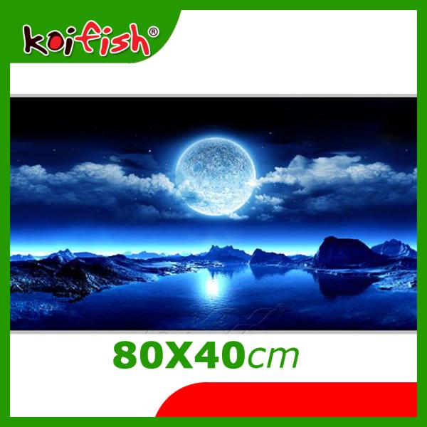 Tranh 3D - Cho Hồ Cá Cảnh Koifish siêu nét, siêu đẹp,  kích thước 80x40cm, Aqb19-221