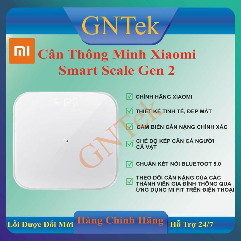 [CHÍNH HÃNG XIAOMI] Cân sức khỏe điện tử thông minh Xiaomi Mi Smart Scale Gen 2