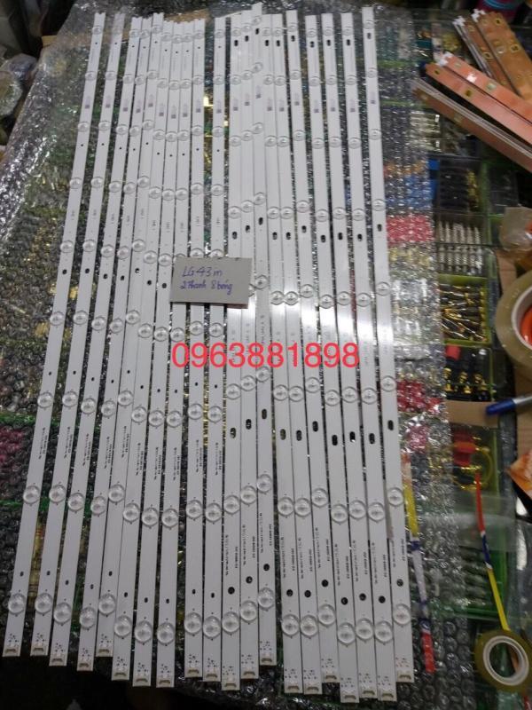 Bảng giá thanh led tivi LG 43inch giá 2 thanh 16 bóng