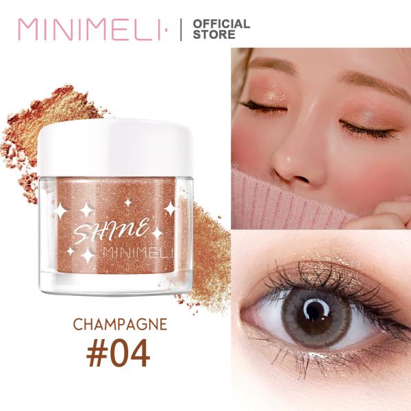 MINIMELI Phấn trang điểm bắt sáng dạng nhũ lấp lánh dùng được cho cả cơ thể (vui lòng chọn màu sắc phù hợp) - INTL