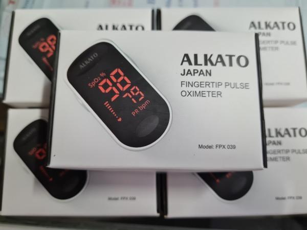 Nơi bán [Hàng Chính Hãng] Máy SPO2 ALKATO Công Nghệ Nhật Bản Đo Nồng Độ Oxy Trong Máu.