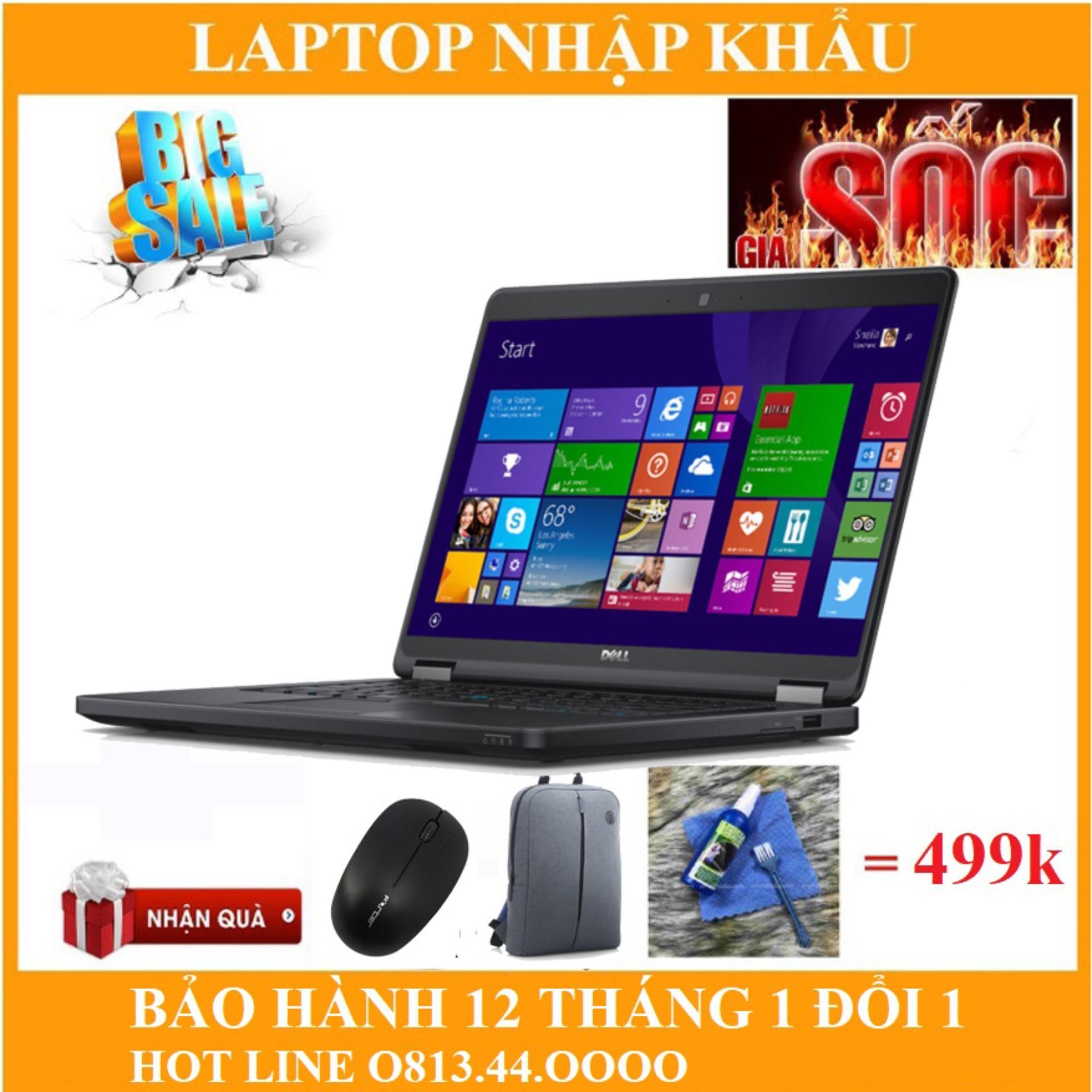 Combo 2 máy Laptop Dell E5450 - Intel Core i5 ram 8gb ssd 120gb.