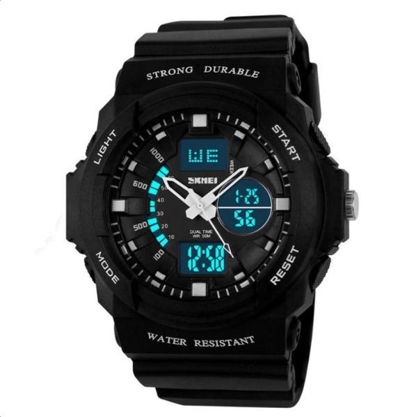 Đồng Hồ thể thao thời trang - đồng hồ điện từ Trẻ Em Dây Cao Su Skmei 0955 bán chạy