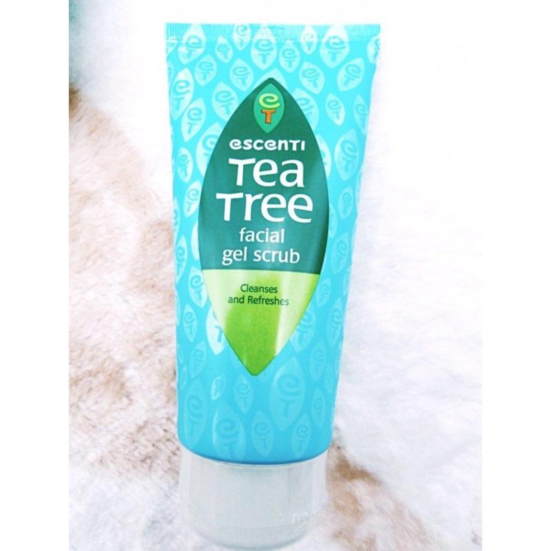 SỮA RỬA MẶT ESCENTI TEA TREE FACIAL WASH GEL - Cho da thêm sức sống giá rẻ