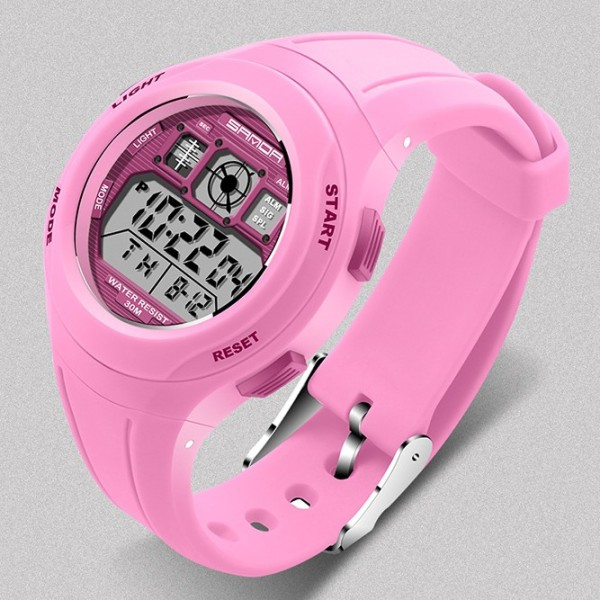 Nơi bán Đồng hồ điện tử thể thao thời trẻ em dây cao su Sanda PKHRSA003  44 mm