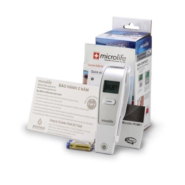 Nhiệt kế hồng ngoại bán trán Microlife bảo hành 2 năm bán chạy