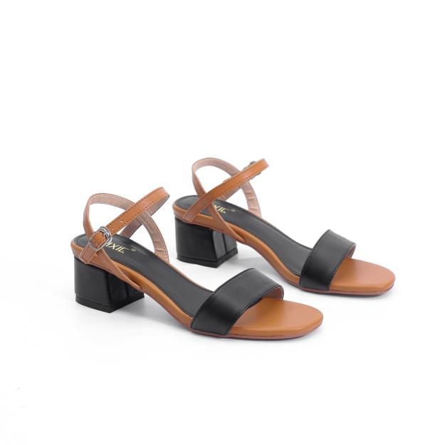 Giày Sandal Cao Gót 3cm Mix Nhiều Màu Pixie Đủ Màu X476 giá rẻ