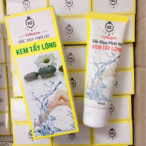 Kem Collagen triệt lông cho nhiều vùng lông trên cơ thể nhập khẩu