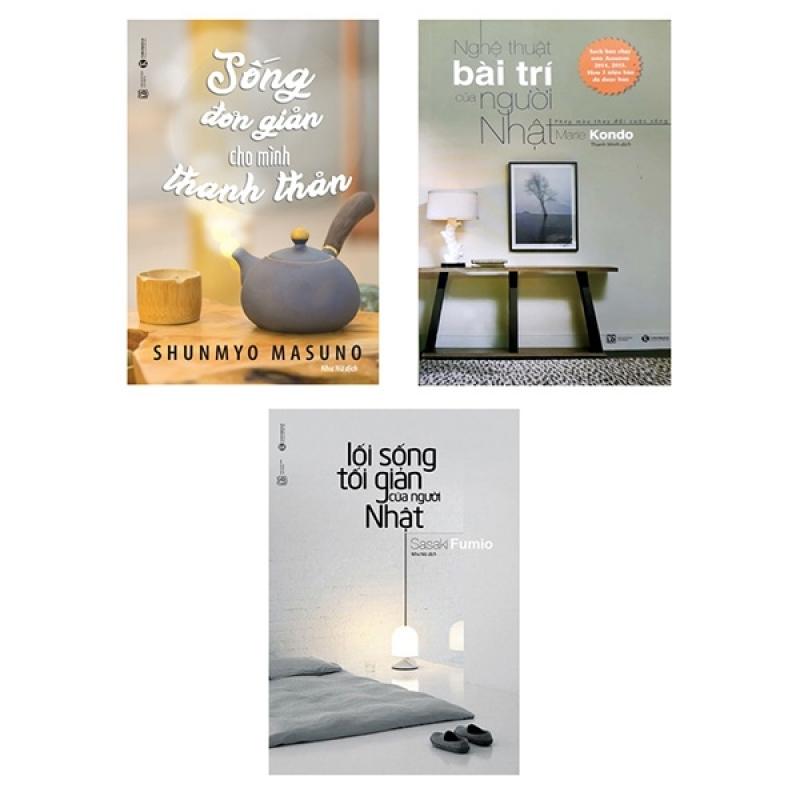 Fahasa - Combo Sách Hay Lối Sống Tối Giản (Bộ 3 Cuốn)