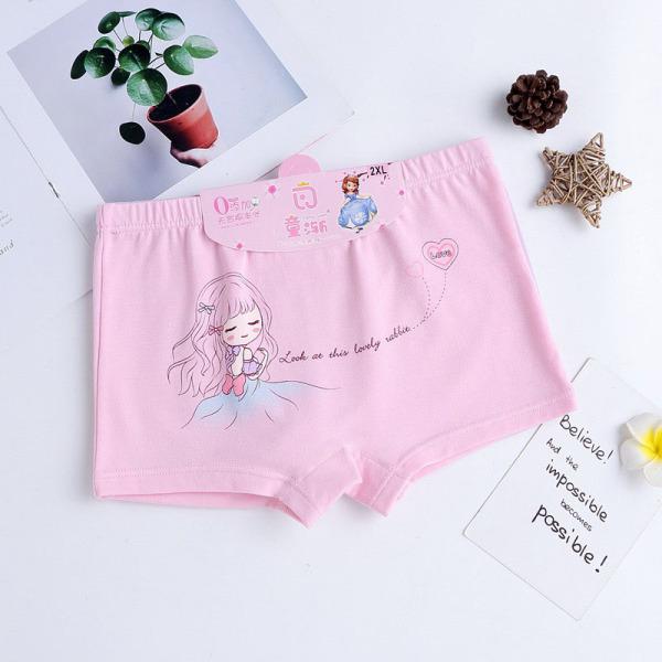 Quần chip thun lạnh 4 chiều ,quần lót bé gái ,quần cho bé từ 2-5 tuổi.