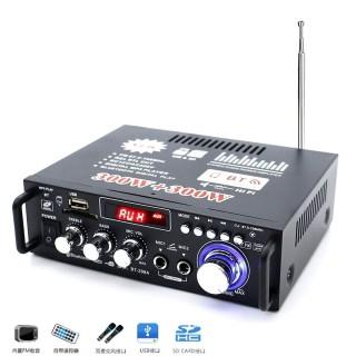 Ampli Mini Karaoke Bluetooth BT-298A, Amly Bluetooth Karaoke Tại Nhà, Amly Cho Xe Ô Tô Bảo Hành 12 Tháng thumbnail