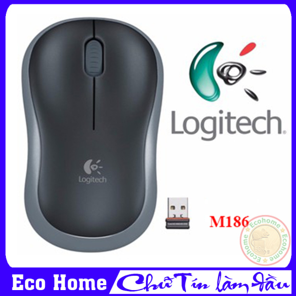 Bảng giá Chuột Không Dây Logitech M186, Chuột Máy Tính Không Dây Giá Rẻ - Bảo Hành 12 Tháng Tại Eco Home Phong Vũ