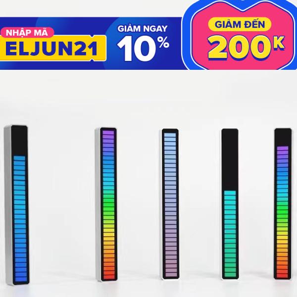 Thanh Đèn Led RGB Điều Khiển Âm thanh DECOR trang trí góc làm việc tuyệt vời của bạn.