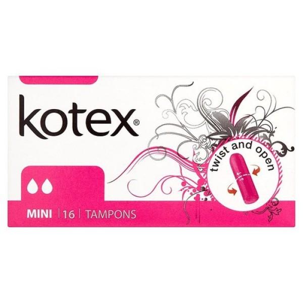 Băng Vệ Sinh TAMPON Kotex  (16 Miếng / hộp) - Nhập Khẩu Từ Czech