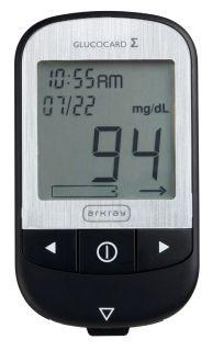 Máy đo đường huyết cá nhân Arkray Glucocard GT 1070 thumbnail