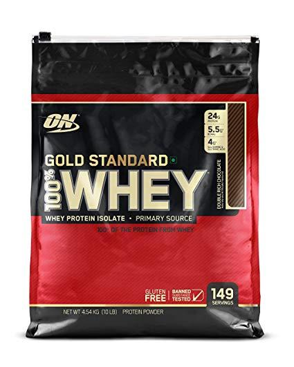 Thực phẩm bổ sung Optimum Nutrition Whey Gold Standard 10Lbs