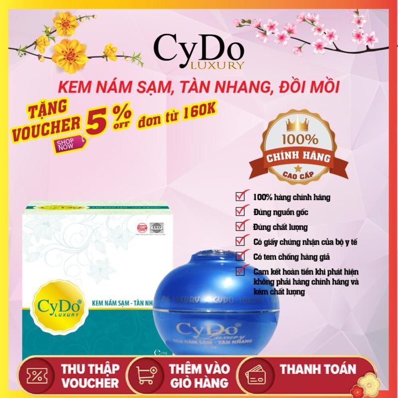 Kem nám tàn nhang đồi mồi dưỡng trắng da mặt chống nắng và chống lão hóa - Kem Luxury CyDo 16g - Mỹ Phẩm CyDo nhập khẩu