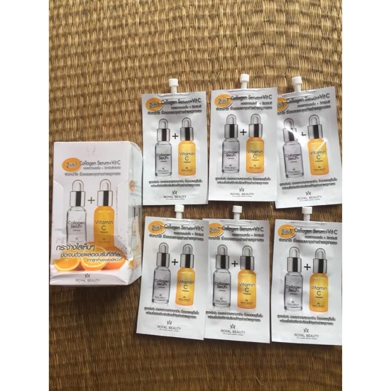 Collagen serum + Vitamin C 2in1 Thái Lan nhập khẩu