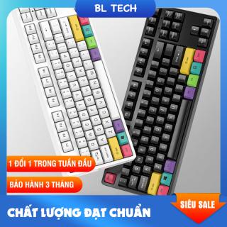 [FreeShip] Bàn phím cơ gaming đèn led Bltech100 giá rẻ cho máy tính thumbnail