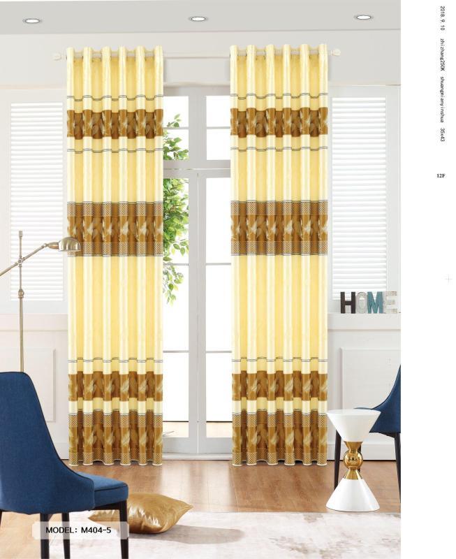 Màn Rèm Cửa Nhỏ 1 tấm (1 bên) ngang 150cm cao 270cm (có thể điều chỉnh tùy ý khách) - Vải gấm truyền thống dày & đẹp - Kiểu may khoen ore - Nhiều màu sắc & Có may theo yêu cầu khách hàng