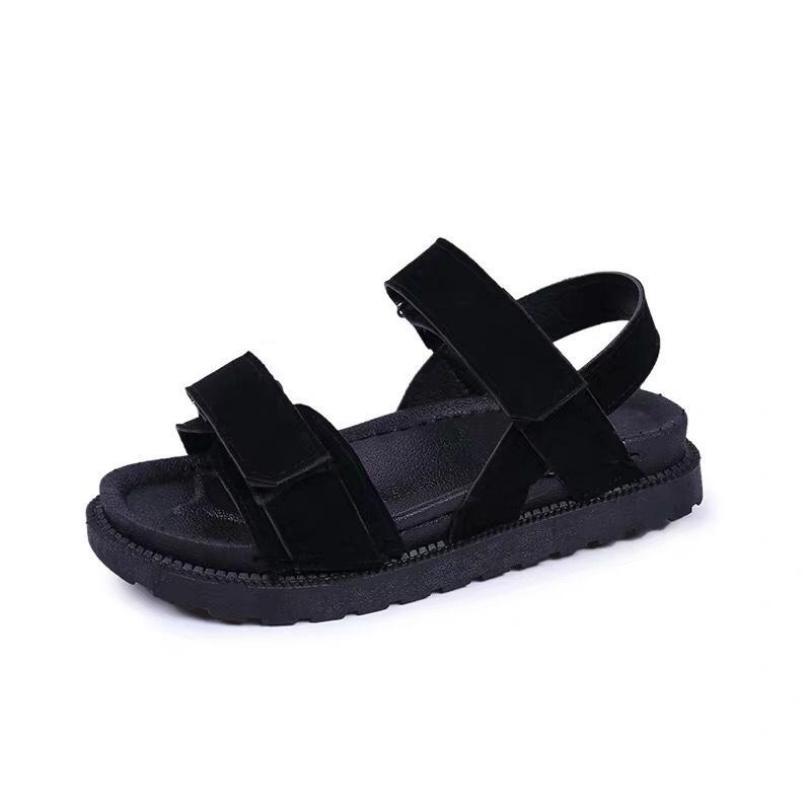 Dép sandal nữ quai ngang da lộn phong cách hàn quốc đế bánh mì siêu êm đi học đi làm hay đi chơi đều có thể sử dụng giá rẻ