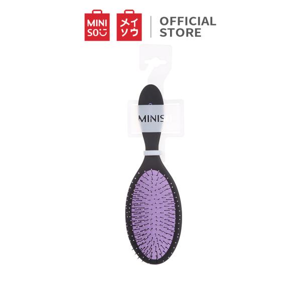 Lược chải tóc Miniso lông mềm mịn gỡ rối tóc dễ dàng (Tím)