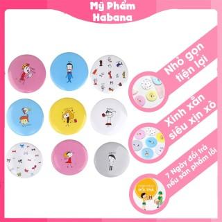 Gương mini cầm tay bỏ túi Hàn Quốc xinh xăn, nhỏ gọn, tiện lợi mang theo khi cần trang điểm P0071 [Màu Ngẫu Nhiên] thumbnail