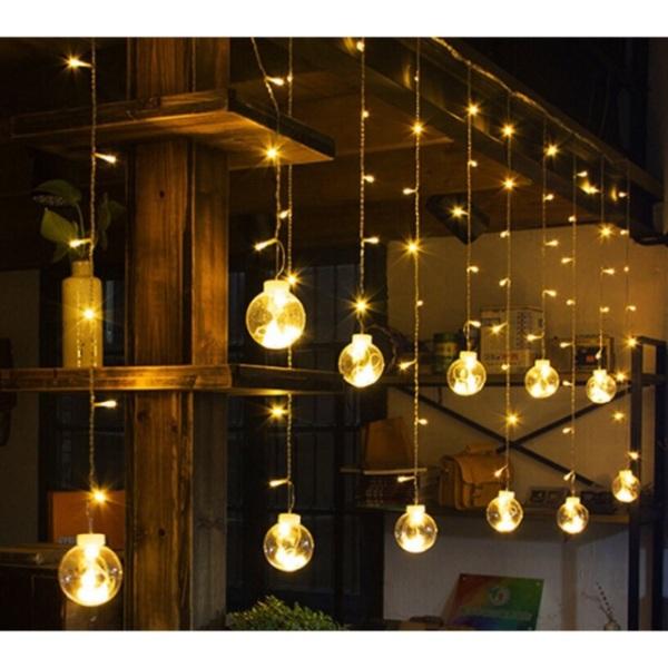 Bảng giá Đèn Cầu Trang Trí Dài 3M 12 Quả Phòng Ngủ, Quán Cafe