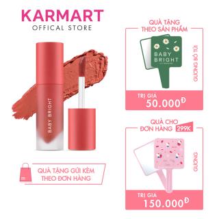 Son kem và má hồng Baby Bright Lip & Cheek Velvet Cherry Blossom 2,4g thumbnail