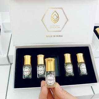 [HÀNG CHUẨN CAO CẤP] Nước Hoa, Tinh dầu nước hoa DUBAI Hộp 5 LỌ NƯỚC HOA MINI, Tinh dầu nước hoa, Nước hoa cao cấp, Nước hoa cho phụ nữ, nước hoa, nước hoa nữ, nước hoa nam [ BÁN SỈ] thumbnail