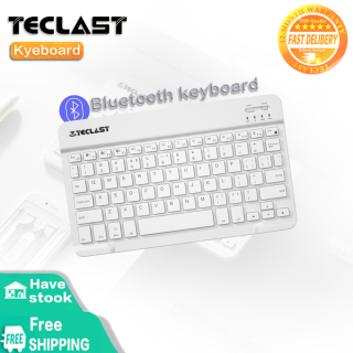 Teclast Lightweight Portable Wireless Bluetooth Connection Keyboard Black White thumbnail