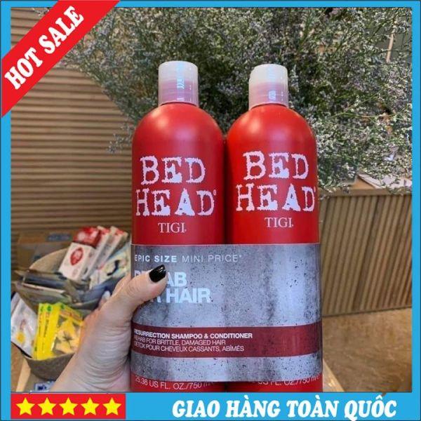 [TIGI] Cặp Dầu Gội - Xả TIGI Bed Head Màu Đỏ Chính Hiệu Siêu Mượt Tóc giá rẻ