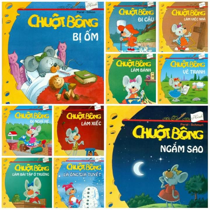 Sách Trọn Bộ 10 Tập Chuột Bông