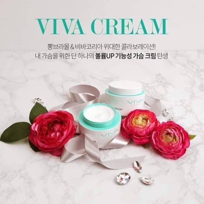 Kem Nở Ngực Viva Cream