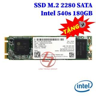 Ổ cứng SSD M.2 SATA Intel 540s 180GB, 545s 256GB - bảo hành 3 năm SD16 SD17 thumbnail