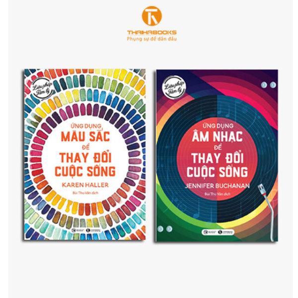 Sách - Combo Liệu pháp tâm lý - Ứng dụng màu sắc và âm nhạc
