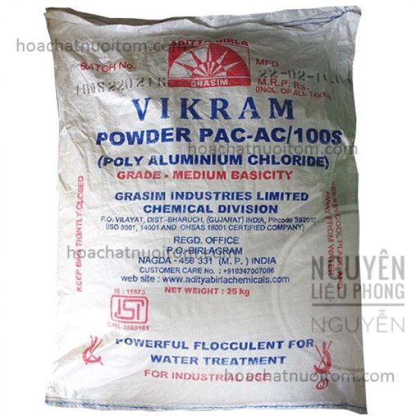 1kg-PAC ấn độ lắng cặn làm trong nước-PAC trắng#PAC trăng 1kg
