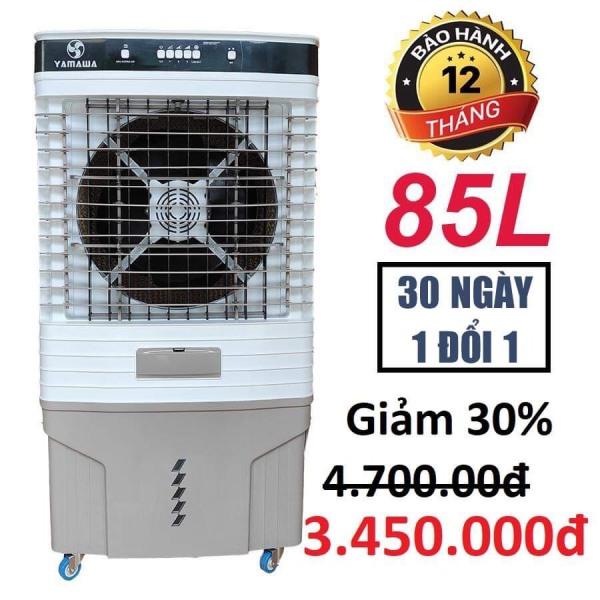 Bảo hành 24 tháng Quạt điều hòa quạt hơi nước YAMAWA LBW 13000 290W 85Lít Model 2020 Mặt kính