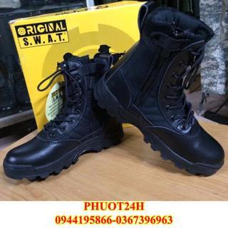 Giày Lính Mỹ SWAT cao cổ - Giày phượt dã ngoại du lịch, giày Nam đặc nhiệm chống trơn trượt thumbnail