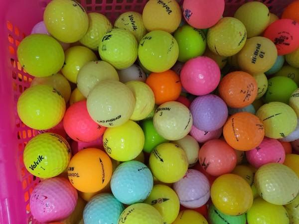 10 quả Bóng golf MÀU đủ các thương hiệu. Bóng golf Srixon. Bóng golf Volvik. Bóng golf. Bridgestone