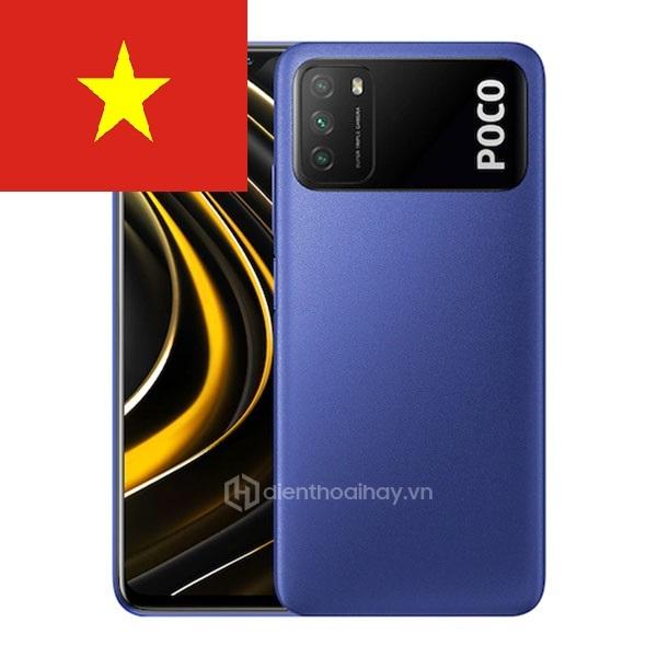 Điện thoại Xiaomi Poco M3 RAM 4/ 64GB PIN 6000MAH...- Hàng chính hãng nguyên seal, bảo hành 18 tháng toàn quốc