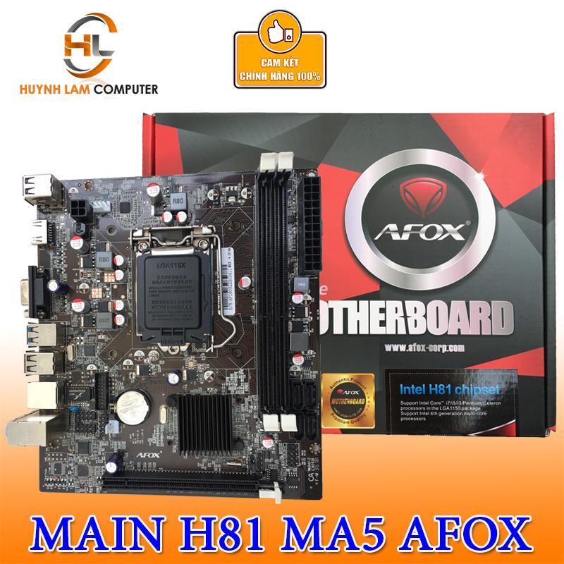 Main AFOX H81 MA5 socket 1150 hãng VSP Phân phối