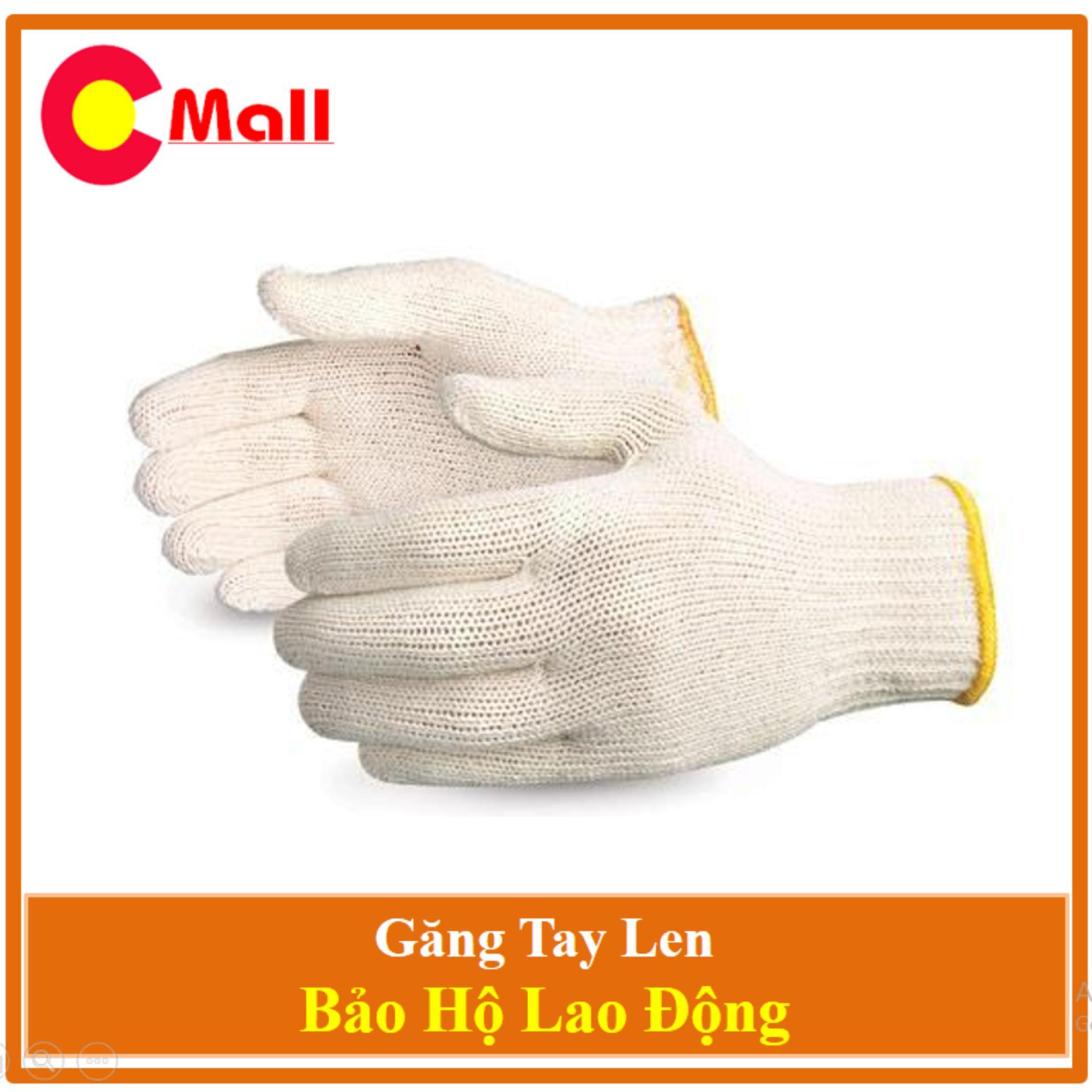 Combo 45 Đôi Găng Tay Len Bảo Hộ Lao Động - Hàng Chất Lượng Cao