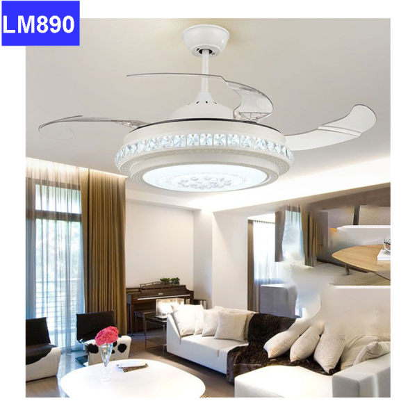 Bảng giá Đèn quạt trần 3 chế độ màu sang trọng, tinh tế và siêu bền đẹp