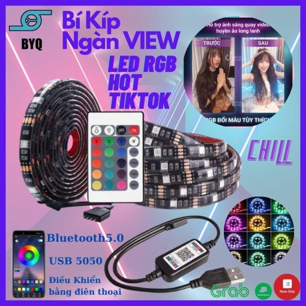 Bảng giá Đèn led tiktok 5M mix đổi màu RGB Quay video cuốn hút Triệu view Đèn trang trí phòng ngủ bàn làm việc