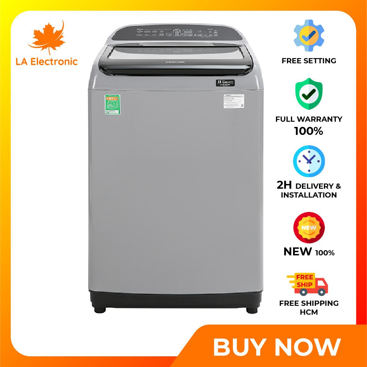 Trả Góp 0% - Máy giặt Samsung Inverter 10 kg WA10T5260BY/SV - Miễn phí vận chuyển HCM