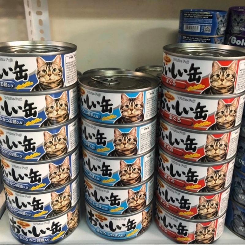 Pate Fuji Nhật bản cho mèo lon 155g