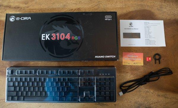 Bảng giá Bàn Phím Cơ E-DRA EK3104 RGB - Huano Switch Phong Vũ