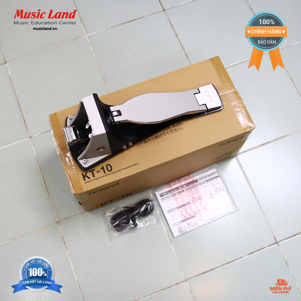 Deal Khuyến Mãi Pedal Kick Trigger Roland KT-10 – Chính Hãng
