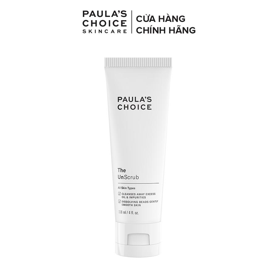 Sữa rửa mặt hạt mềm làm sạch tế bào chết Paula's Choice The UnScrub